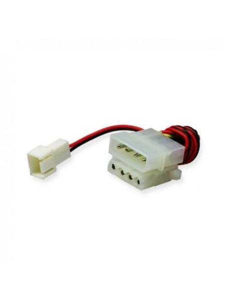 Переходник питания  Molex to 3-pin Fan Connector