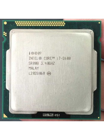 Процессор Intel Core i7-2600 Socket 1155 (4 ядра х 3.4 ггц / 3.8 ггц) Б/У
