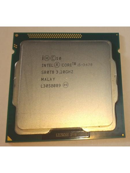 Процессор Intel Core i5-3470 Socket 1155 (4 ядра х 3.2 ггц / 3.6 ггц) Б/У