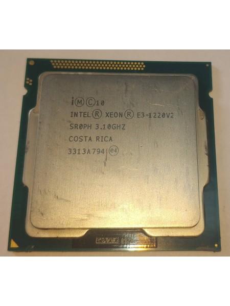 Процессор Intel Xeon E3-1220 v2 Socket 1155 (4 ядра х 3.1 ггц / 3.5 ггц) Б/У
