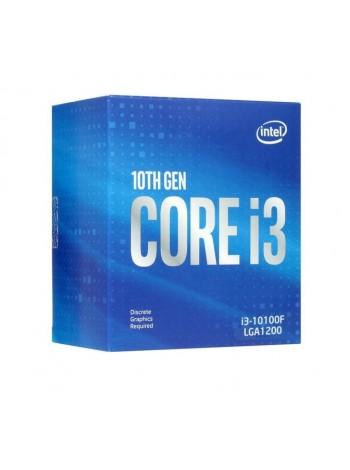 Процессор Intel Core i3-10100F BOX , LGA 1200, 4 x 3600 МГц