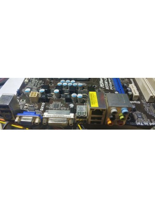 Материнская плата ASROCK H55M-LE, socket 1156 + I3-540, Б/У