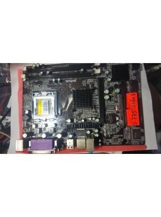 МАТЕРИНСКАЯ ПЛАТА  DETECH DT-G41MIX DDR2/DDR3, SOCKET 775 ,vga,lpt,com