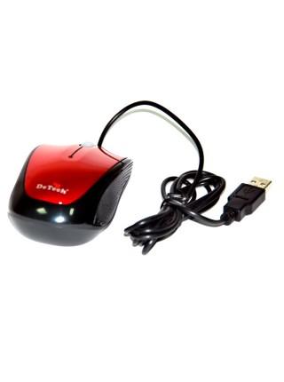Мышка проводная оптическая DeTech DE-3062