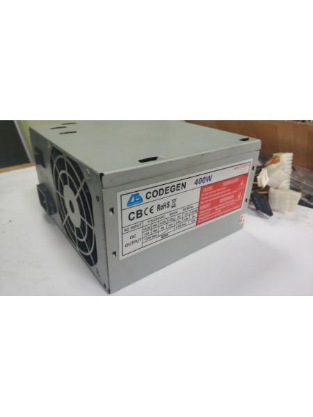 Блок питания CODEGEN 400W FAN80MM Б/У