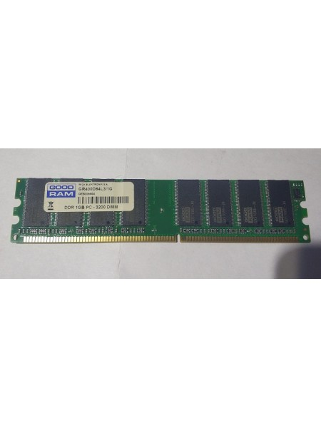 Оперативная память LONG-DIMM DDR1, 1 ГБ PC3200(400мгц)  б.у.